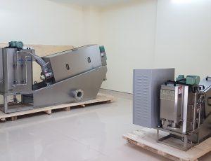 máy xử lý bùn thải