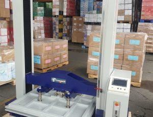 máy kiểm tra độ chịu lực của thùng carton